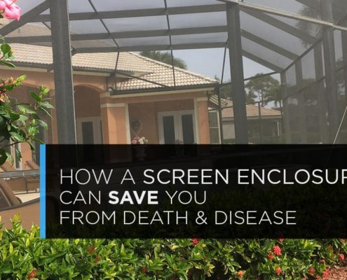 How a Screen Enclosure Can Save You From Death and Disease