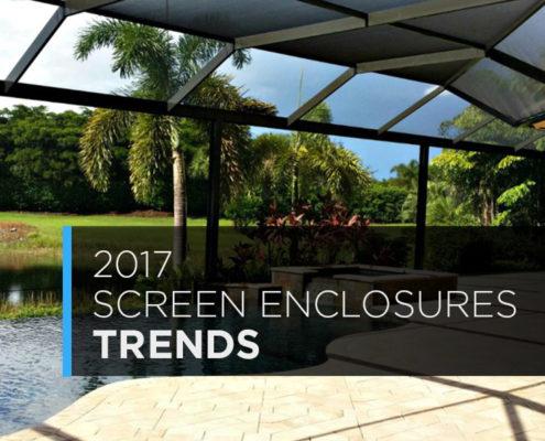 2017 screen enclousres trends