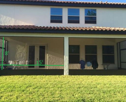 3 types of screen enclosures and what they cost fl screens for Lanai structure