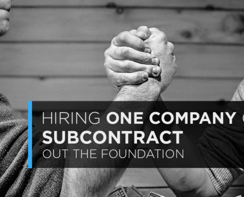 hiring one company of subcontracting