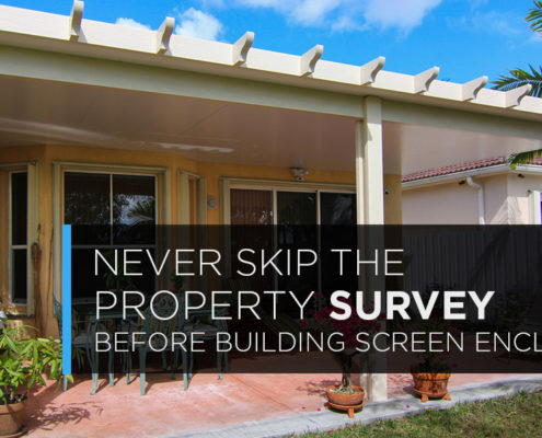 never skip the property survey