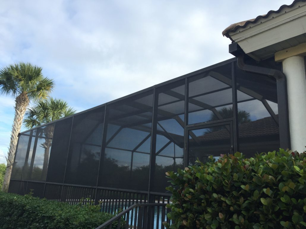 Common misconceptions about screen enclosures fl screens for Pool screen privacy
