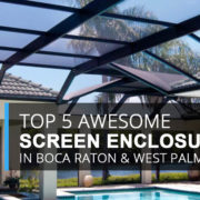3 Types Of Screen Enclosures And What They Cost Fl Screens